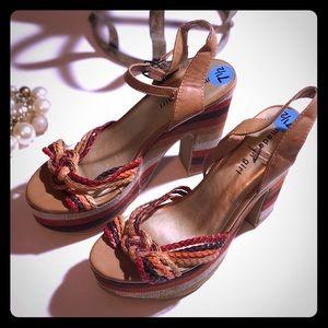Madden Girl Platform Sandals 7 1/2